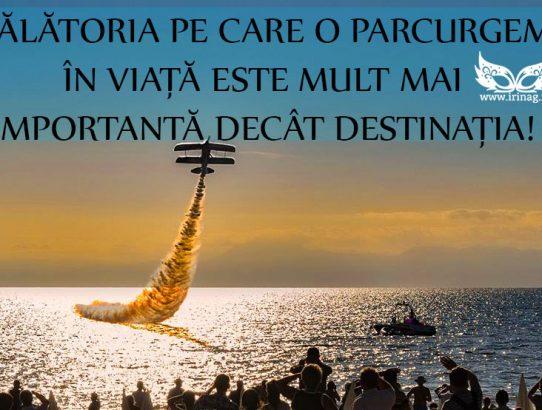 Călătoria prin viaţă...